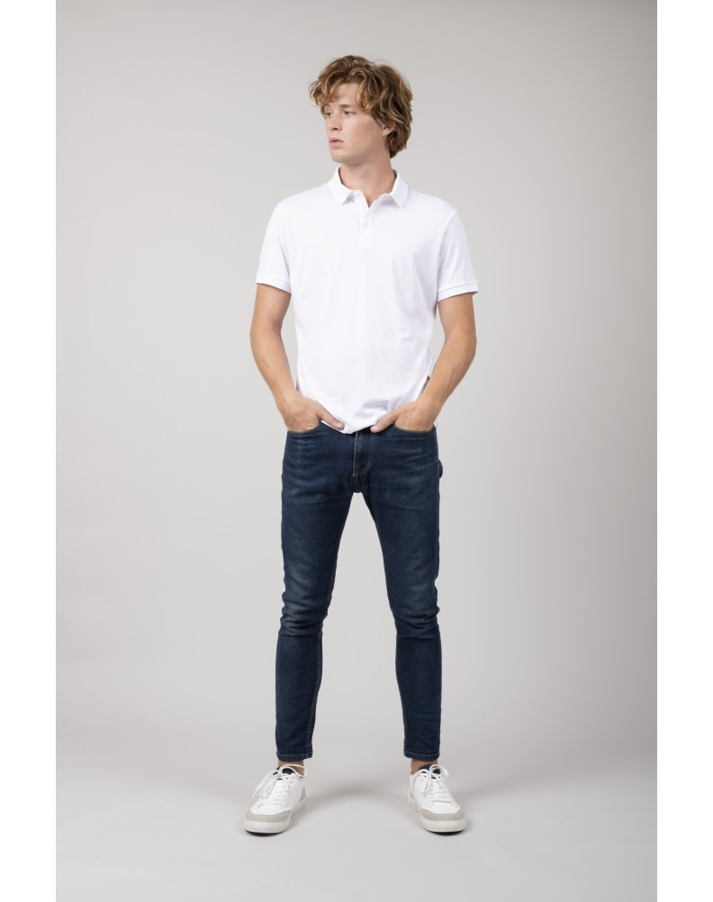 AGAPAN WHITE polo shirt