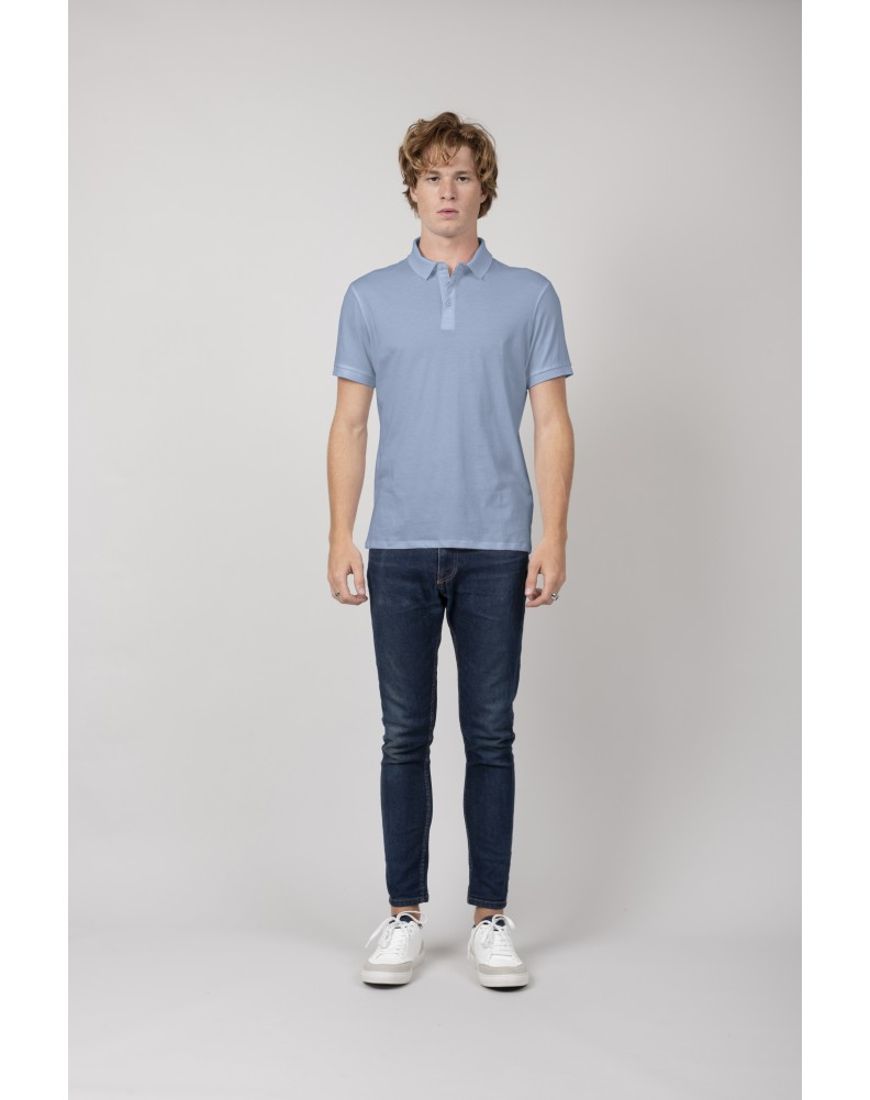 AGAPAN DUCK BLUE polo shirt